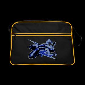 Rock God-Silver/Blue - Retro Bag