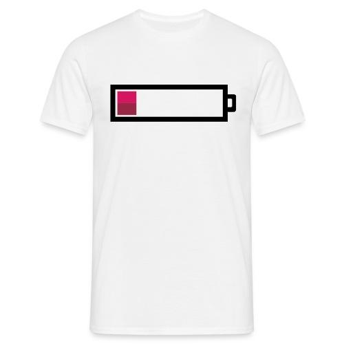 Batterie faible - T-shirt Homme