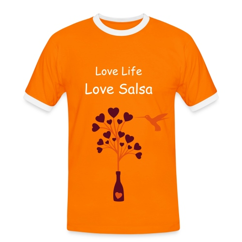 Love life, Love salsa - Men's Ringer Shirt