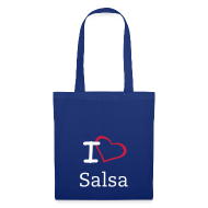 Bags & Backpacks ~ Tote Bag ~ Salsa Tote/ Canvas Bag