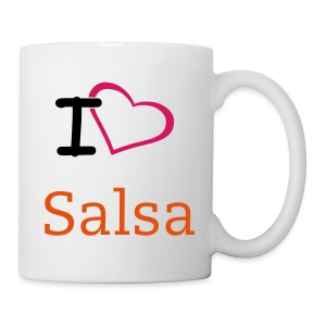 I love to Salsa Mug - Mug