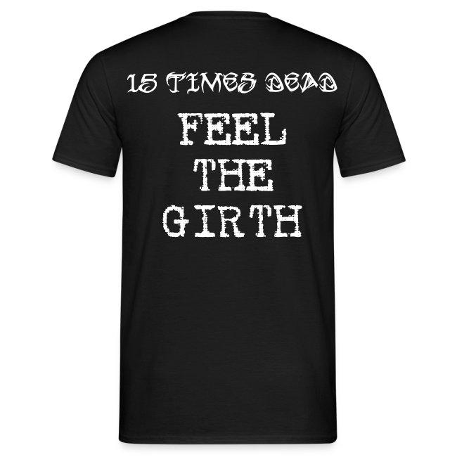 15xD Backprint Only Feel The Girth