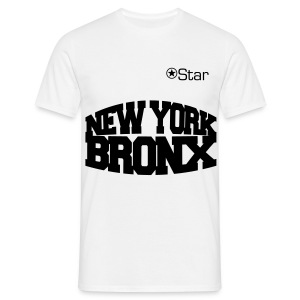 Star | New York Bronx - Männer T-Shirt