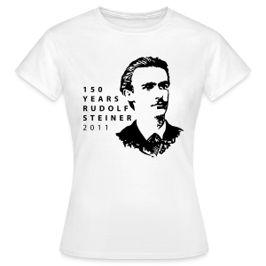 150 Years Rudolf Steiner 2011 - Frauen T-Shirt