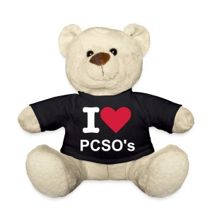 I Love PCSO's Teddy - Teddy Bear