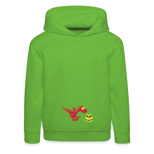 draakje - Kinderen trui Premium met capuchon