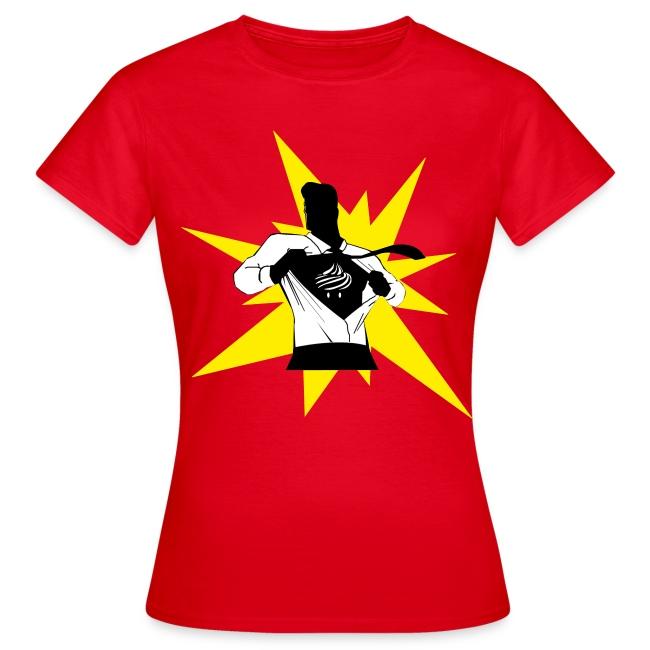 T-shirt Super Cupcake Femme