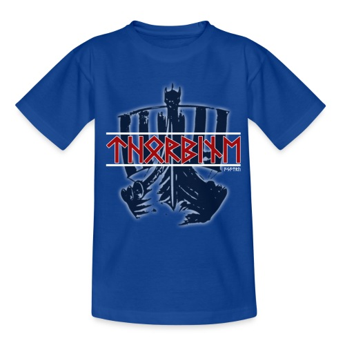 Kinder T-Shirt klassisch Thorbine - Teenager T-Shirt
