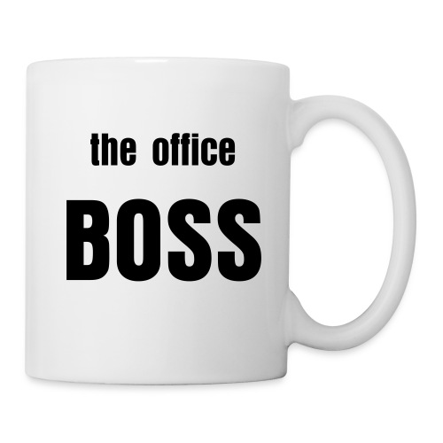 mug The office BOSS - Mug blanc