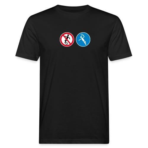 Nur für Handballer_M - Männer Bio-T-Shirt