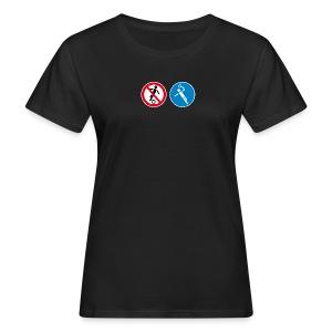 Nur für Handballer_W - Frauen Bio-T-Shirt