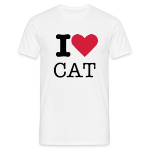 I love CAT (Home) - Camiseta hombre