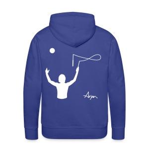 Arjan Throw Across Hoodie (Pick your colour) - Men's Premium Hoodie
