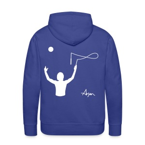 Arjan Throw Across Hoodie (Pick your colour) - Men's Premium Hoodie