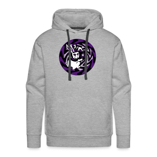 Rabbit Hole-Purple - Men's Premium Hoodie