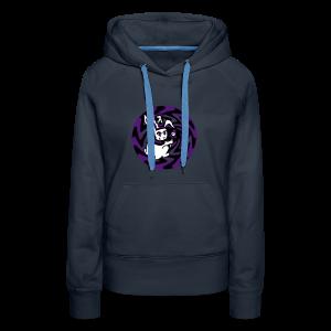 Rabbit Hole-Purple - Women's Premium Hoodie