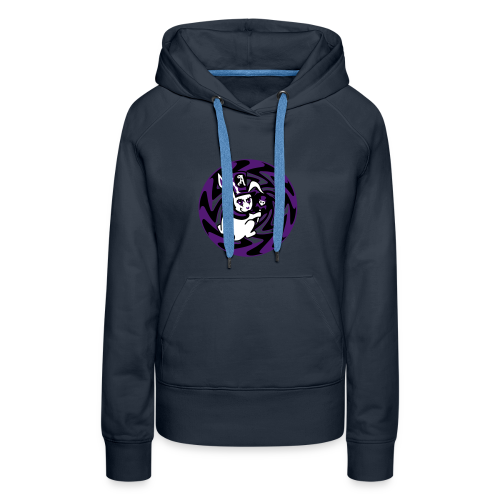 Rabbit Hole-Purple - Women's Premium Hoodie