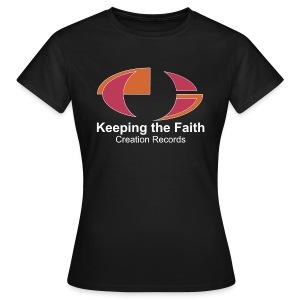 Keeping The Faith colour - Women's T-Shirt