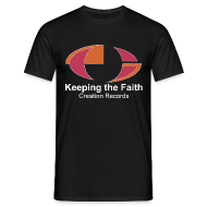 T-Shirts ~ Men's T-Shirt ~ Keeping The Faith colour