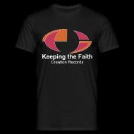 T-Shirts ~ Men's T-Shirt ~ Keeping The Faith colour