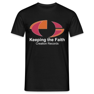 Keeping The Faith colour - Men's T-Shirt