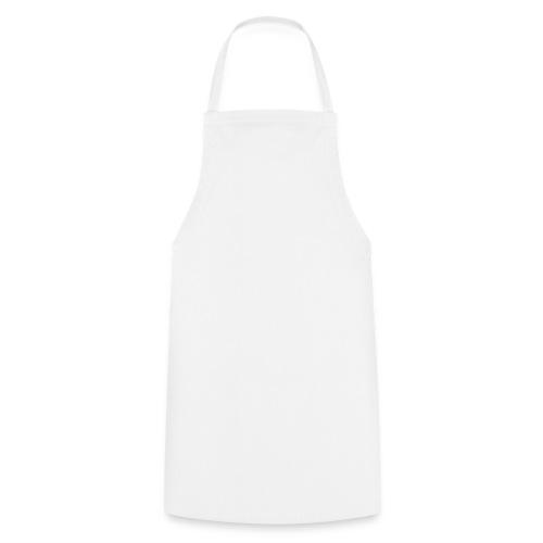 Kochschürze: Weiß unbedruckt - Kochschürze