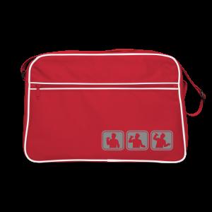 Belt-Silver Sparkle - Retro Bag