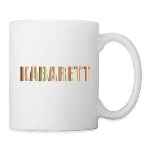 Kabarett-Tasse Streifen - Tasse