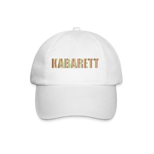 Kabarett-Cap Streifen - Baseballkappe