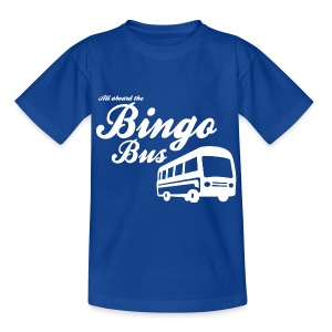 Bingo Bus - Teenage T-shirt