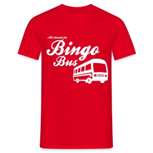 Bingo Bus - Men's T-Shirt