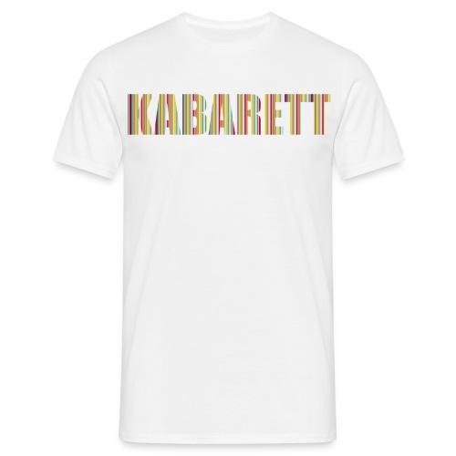 Kabarett Herren T-Shirt Streifen  - Männer T-Shirt