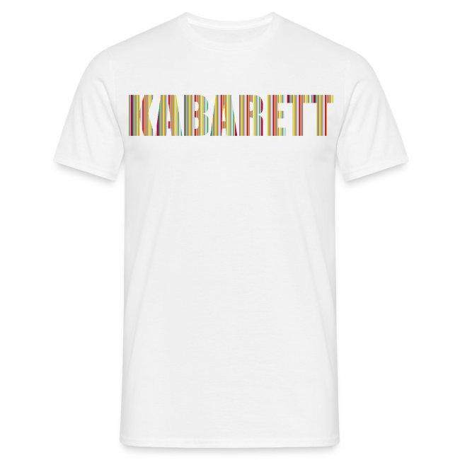 Kabarett Herren T-Shirt Streifen