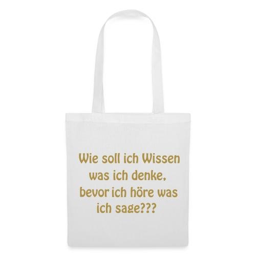 WIssen - Stoffbeutel