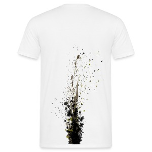Muddy rear - Men's T-Shirt