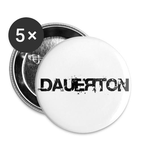 DauerOldschoolButtom - Buttons klein 25 mm