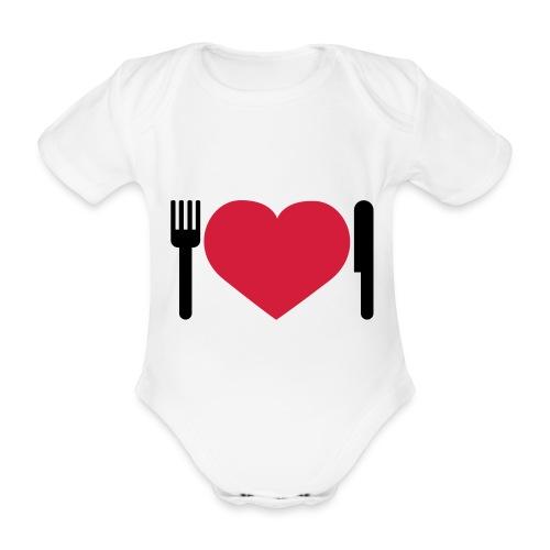 Barn Body mat - Ekologisk kortärmad babybody