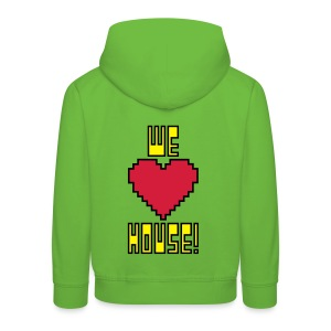 We Love House - Kid's Dark Hoodie - Kids' Premium Hoodie