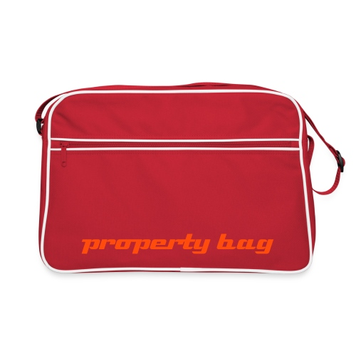 Property Bag Red Analog - Retro Bag