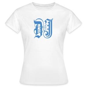 DJ Gothic Style - Women's Classic White T-Shirt - Women's T-Shirt