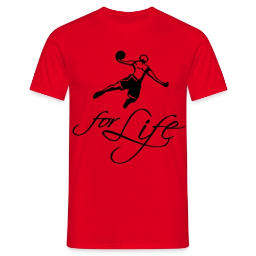 Basketball Tee - Herre-T-shirt