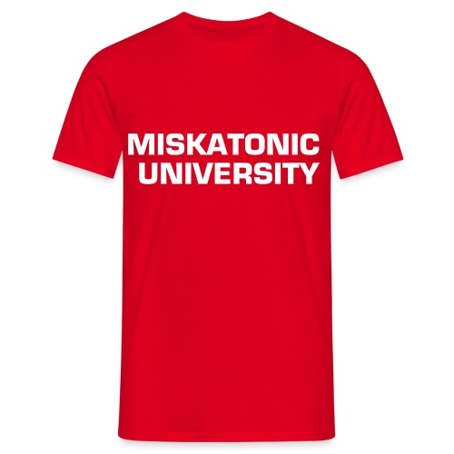 Miskatonic University - T-shirt herr