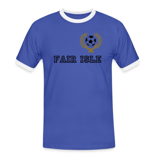coppa_corona_football - Men's Ringer Shirt