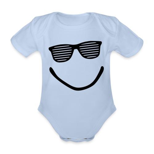 Baby-Body Mr. Cool - Baby Bio-Kurzarm-Body
