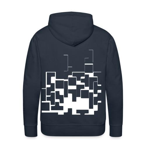 Kapuzenpullover Tetris Herren - Männer Premium Hoodie