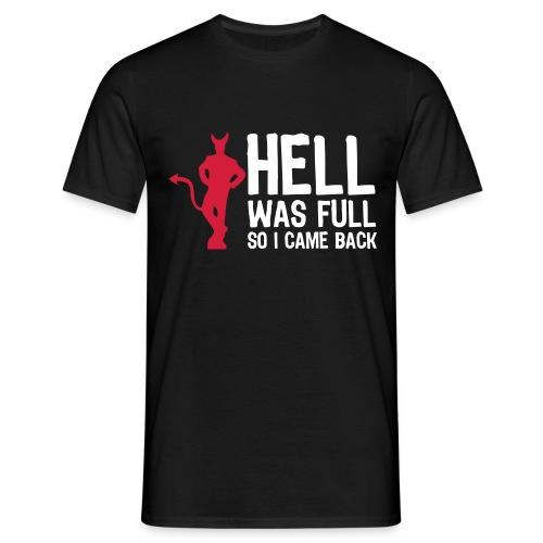 hell - Maglietta da uomo