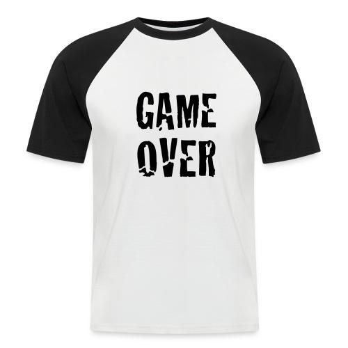 Camiseta Beisbol Game Over - Camiseta béisbol manga corta hombre
