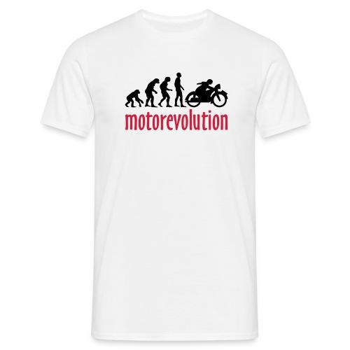 Motorevolution - Männer T-Shirt