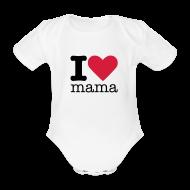 Baby body ~ Rompertje ~ I love mama