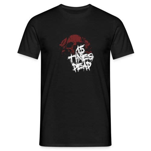 HRH Rough Skull Tee - Men's T-Shirt